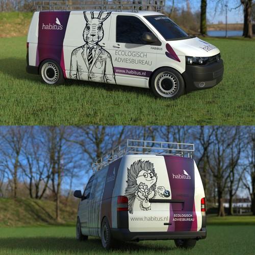 Car wrap - habitus ecologic consultancy