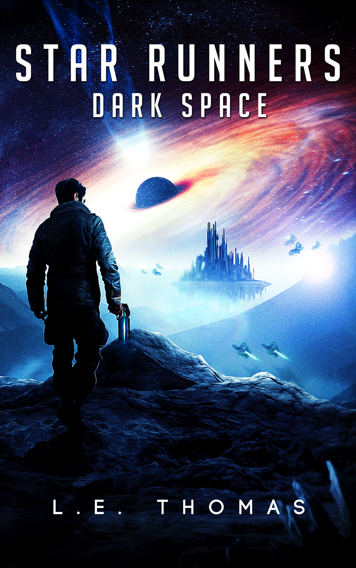Star Runners: Dark Space Book/ebook Cover