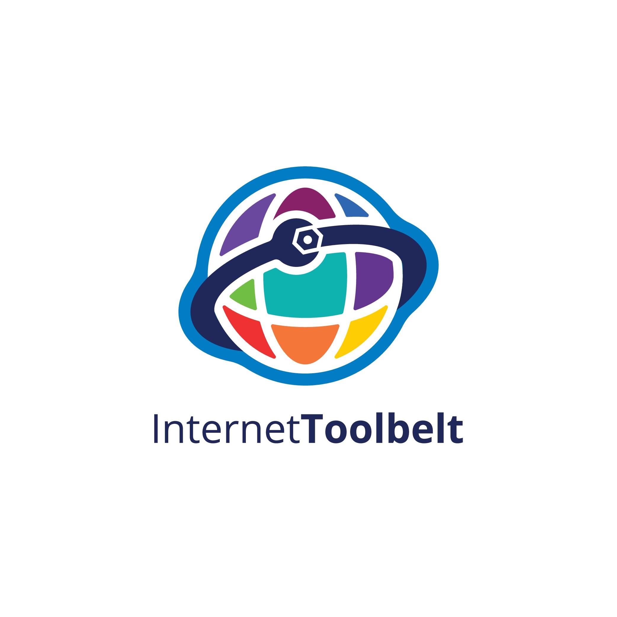 InternetToolbelt logo design - Crisp, clean logo