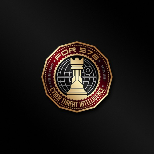 Challenge coin for For 578