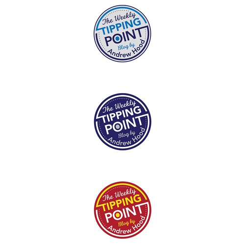 The Weekly Tipping Point Logo Design