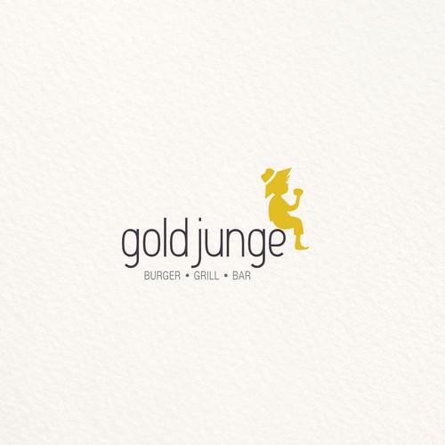 Gold junge logo