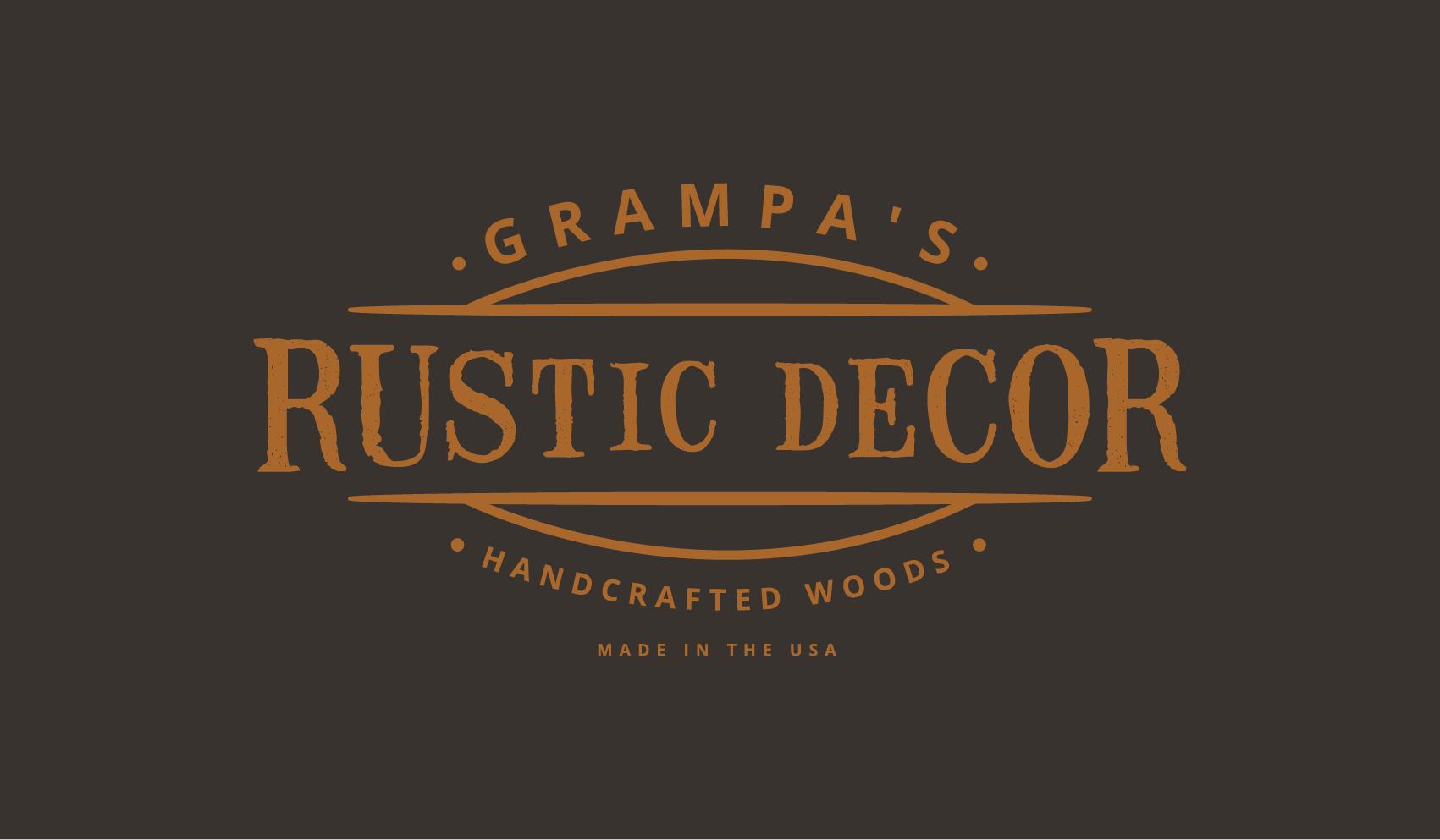 Rustic Home Decor Logo Needed!