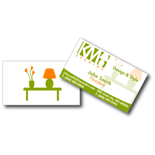 KM Studios - Seeking Logo & Stationary Set