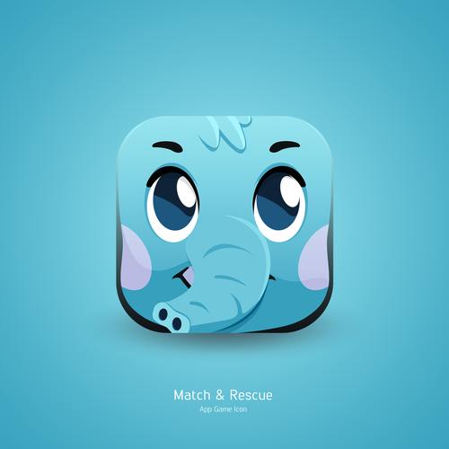Match & Rescue Game App Icon