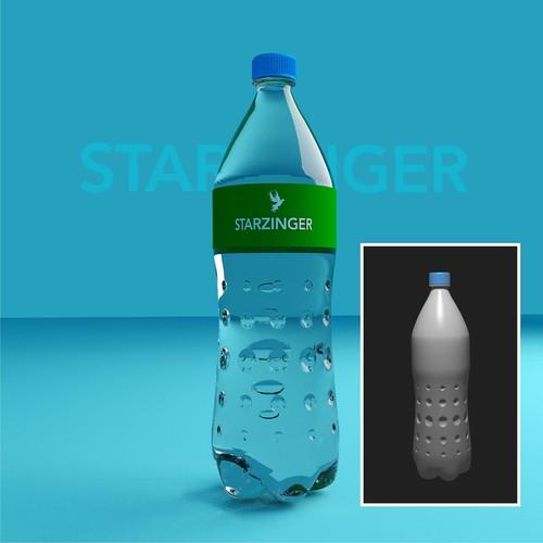 Botle design for Starzinger.