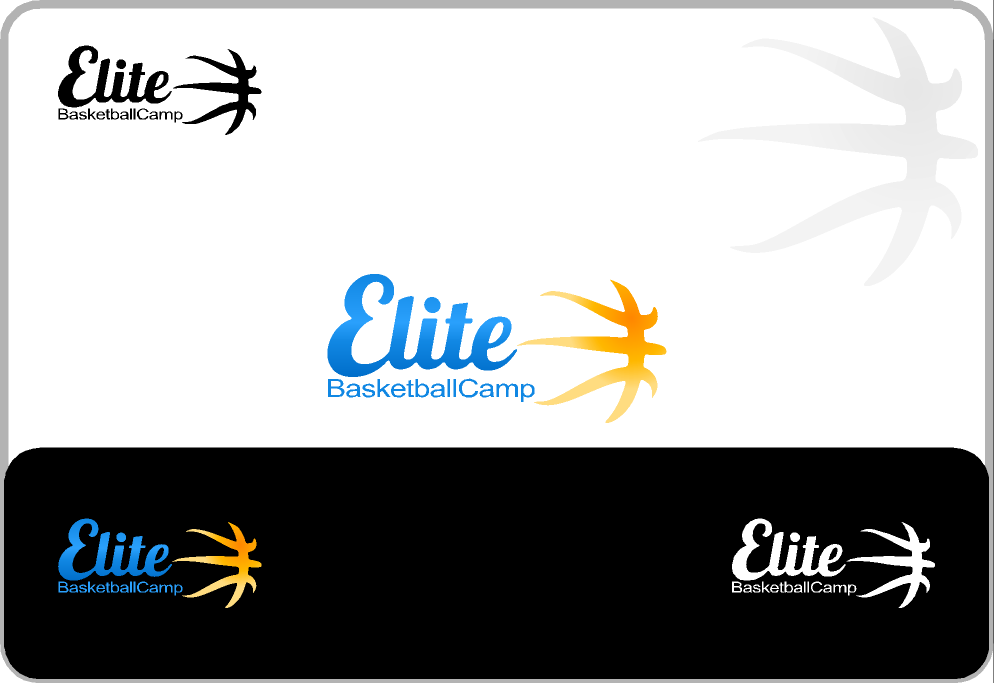 Create the next logo for Elite Basketball Camp