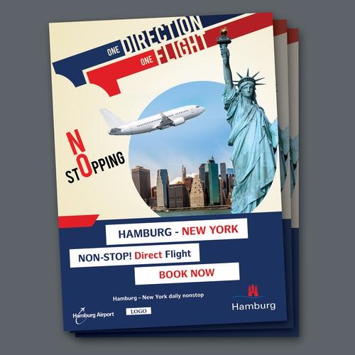 German Travel Company Poster