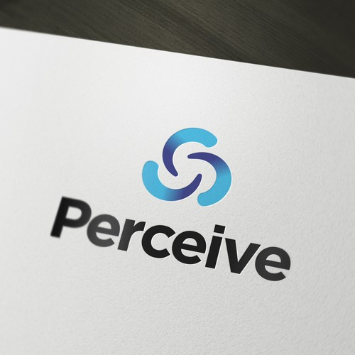 Create a logo for Perceive, a modern online wealth reporting service