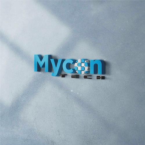logo concept for mycon