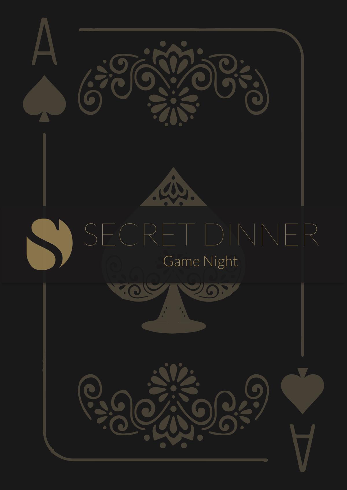Menucard for Dinner