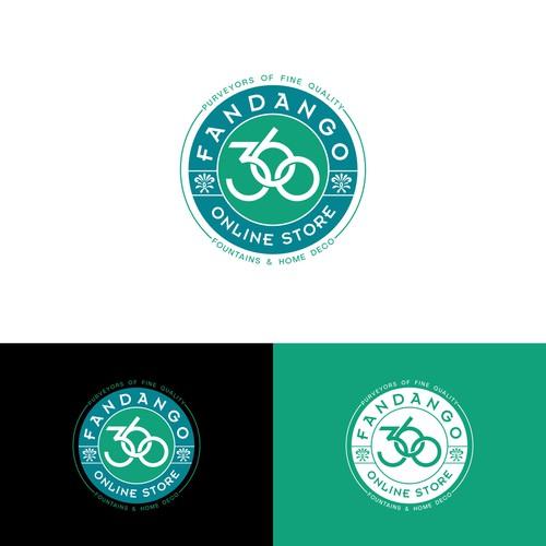 Hipster Style Logo for Fandango 360
