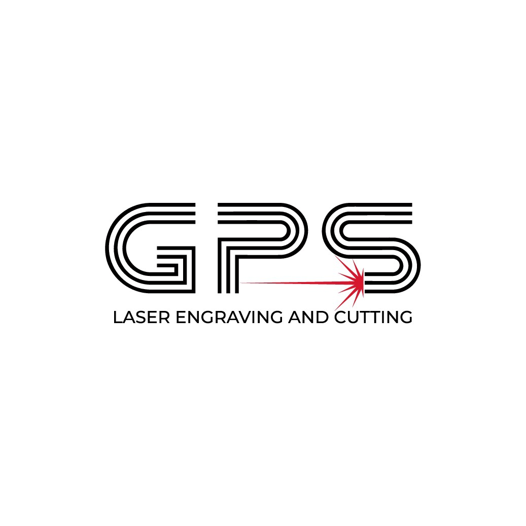 GPS Laser Engraving and Cutting needs a great logo to launch a new website.