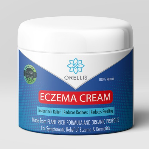 Eczema cream design