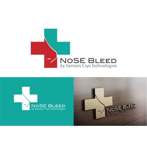 Logo for a Company which Provides the First Patent Protected Nose Bleed Stop Kit for Paramedics and Home use.
