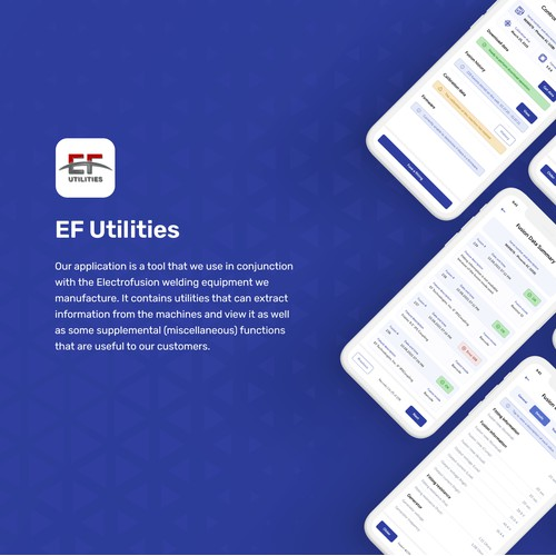 EF Utilities App UI Redesign