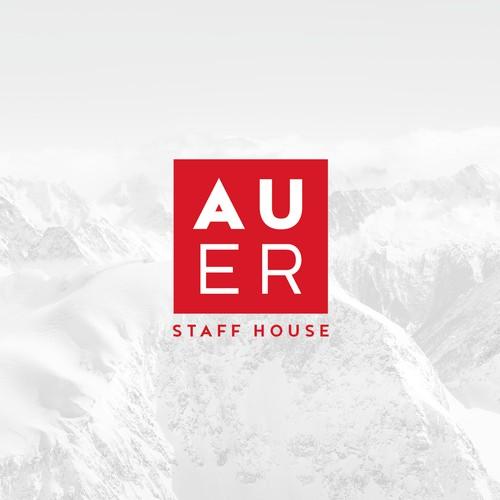 Austrian employee accommodaton logo design