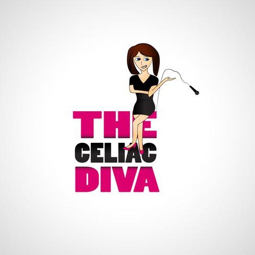 This ONLINE SHOW (The Celiac Diva) needs a new Logo!!