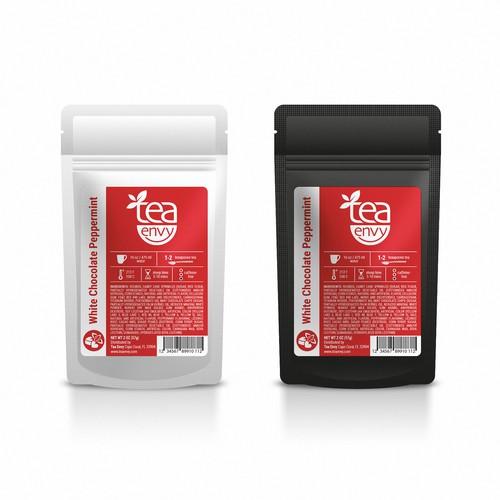 Produkt label for Tea Envy