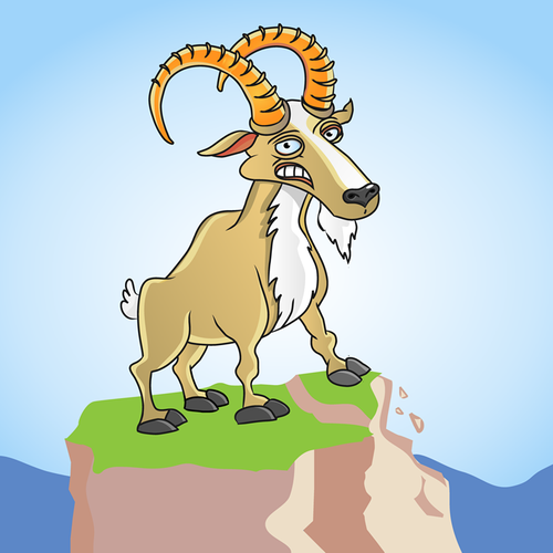 Goat mascot for geeks :)