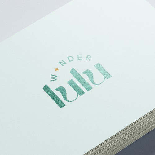 Modern and feminine logo for a retail company who sell sell items and goods for young parents and their toddlers and young children.