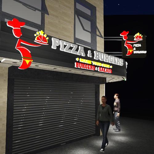 exterior design / signage