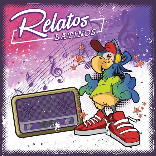 Parrot CD album design