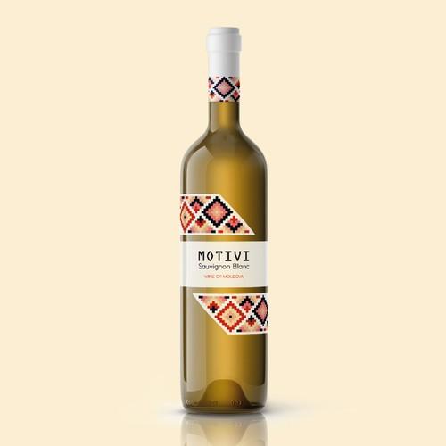 Moldovan Wine Label Design