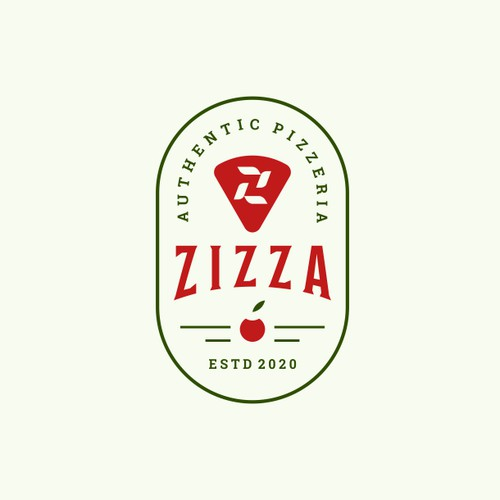 vintage style pizza resto