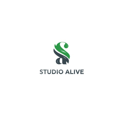 Logo for studio alive
