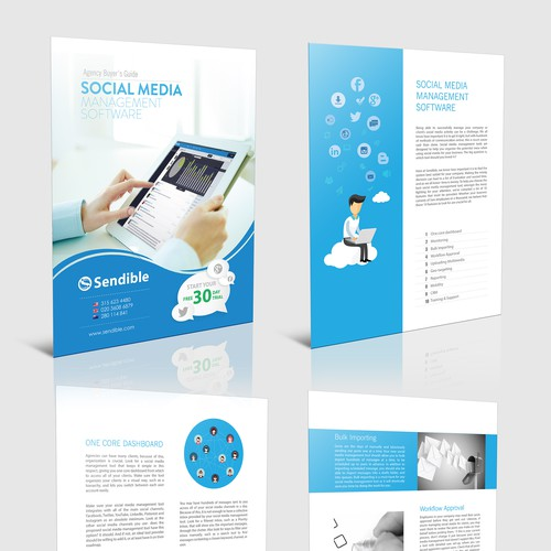 Create a white paper for a social media company