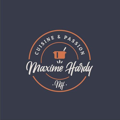 Créer un logo vintage et authentique pour ma petite société culinaire.