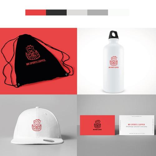Mr Sports Capper - Branding