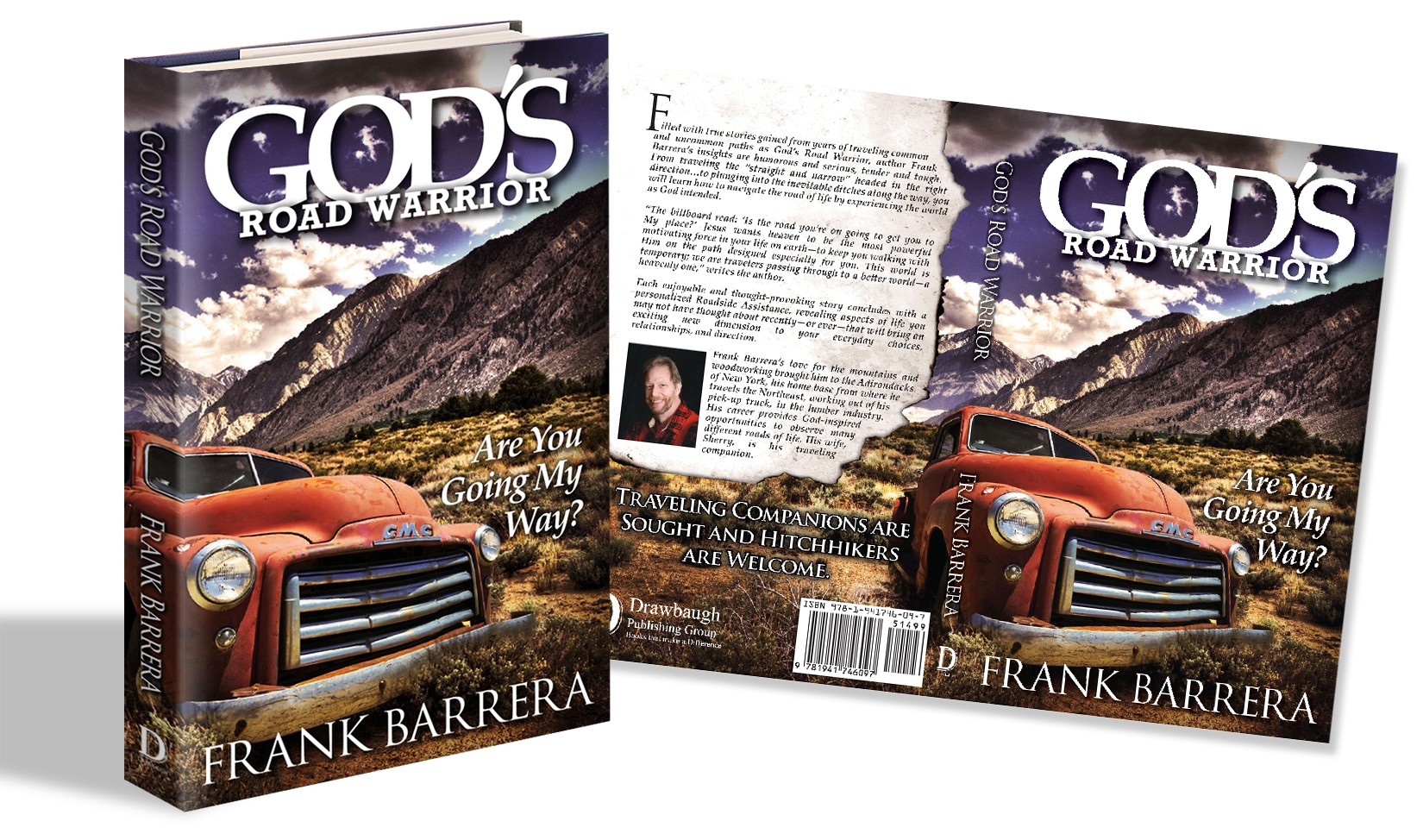 Create a great cover for God's Road Warrior