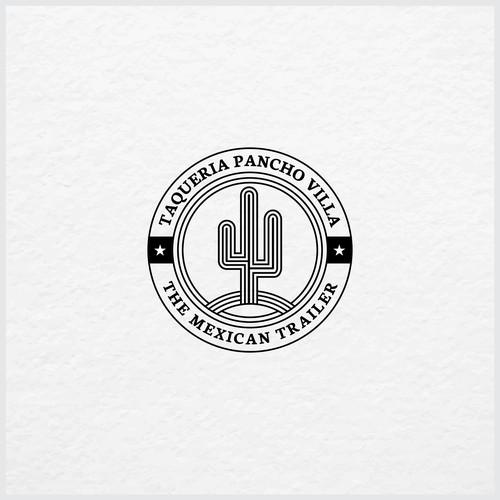 Logo concept for TAQUERIA PANCHO VILLA