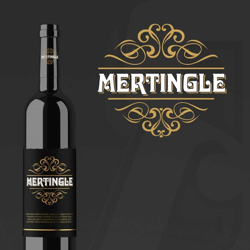 Wine Shop Logo Design Concept | Mertingle