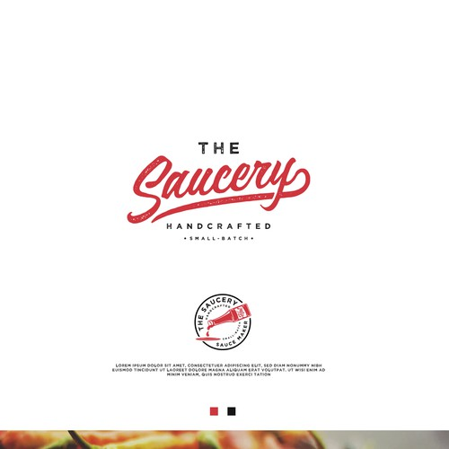 Logo Design for The Saucery
