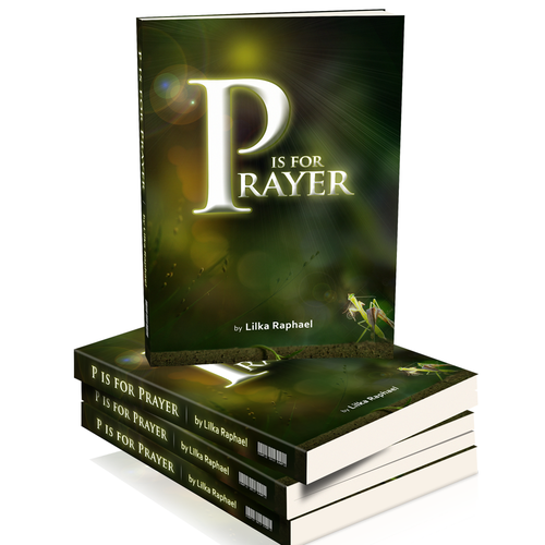New Book Cover for P is for Prayer