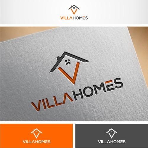 Lettermark V logo for villahomes