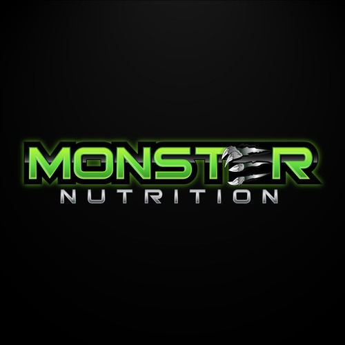 *Guaranteed!* Monster Nutrition needs a new logo