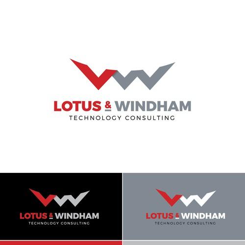 LW letters in logo