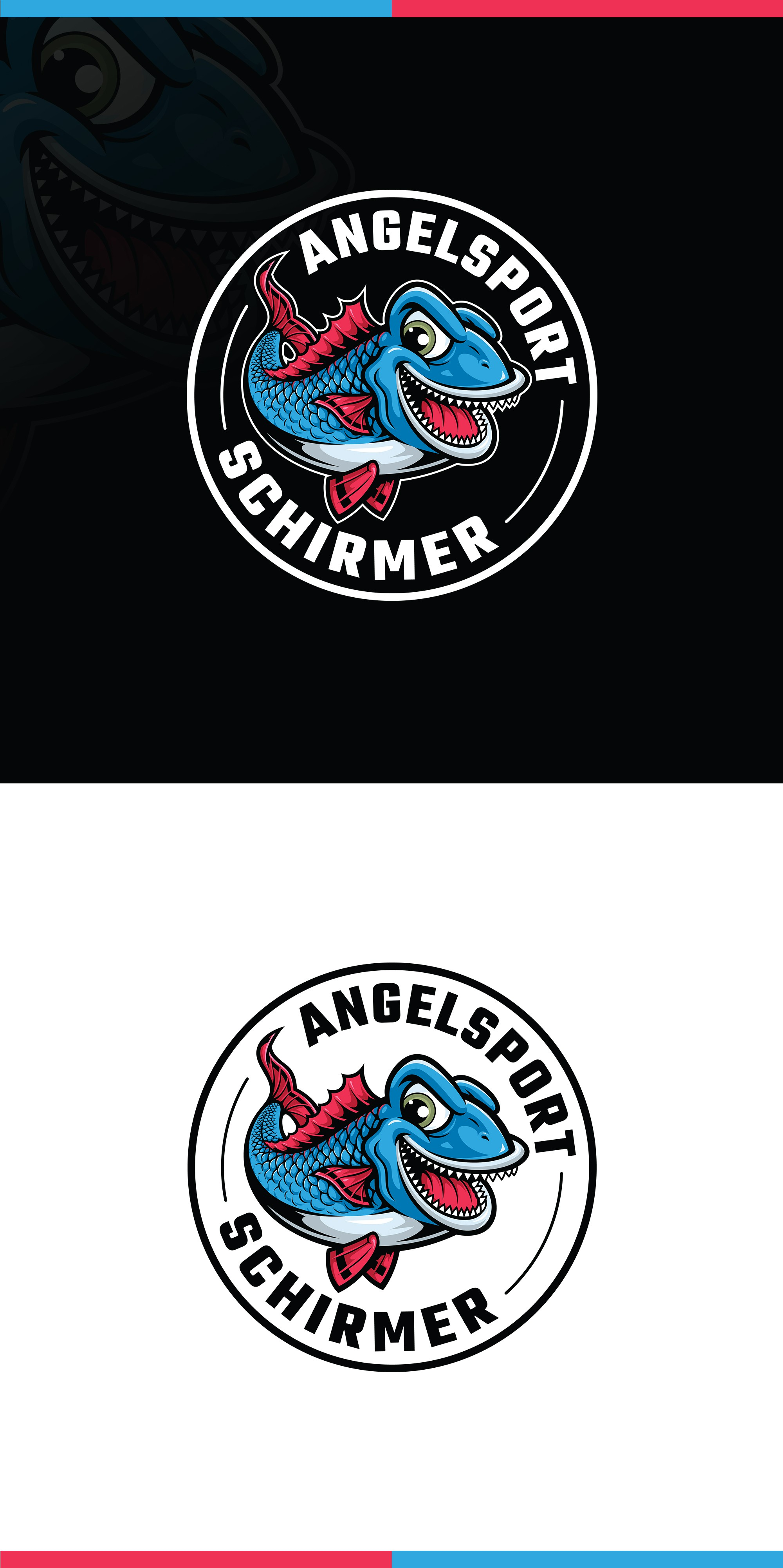 upgrade logo for fishing tackle of larger groups