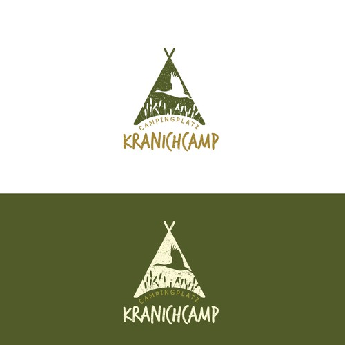 Nature logo for campsite