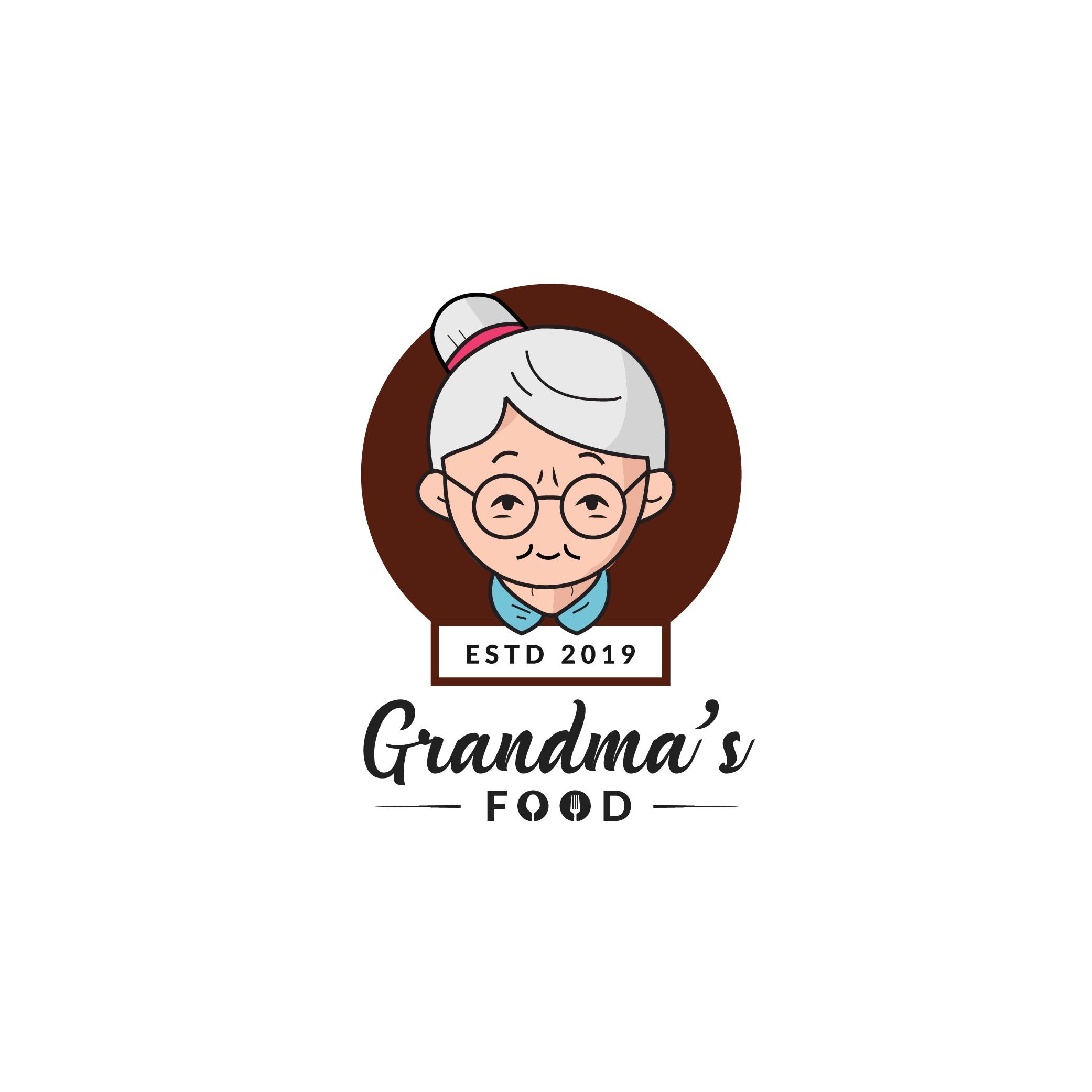 Grandma's restaurant needs a delicious logo