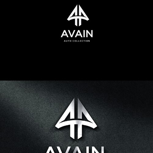 Strong and elegant logo for Avain Auto Collection