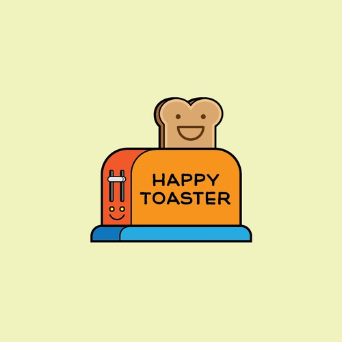 Logo for Happy Toaster
