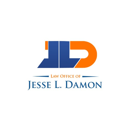 "New logo and business card wanted for Law Office of Jesse L. Damon (can just use initials ""JLD"" or ""Damon"")"