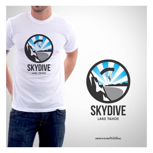 Skydive Lake Tahoe - Logo Contest - Enjoy!