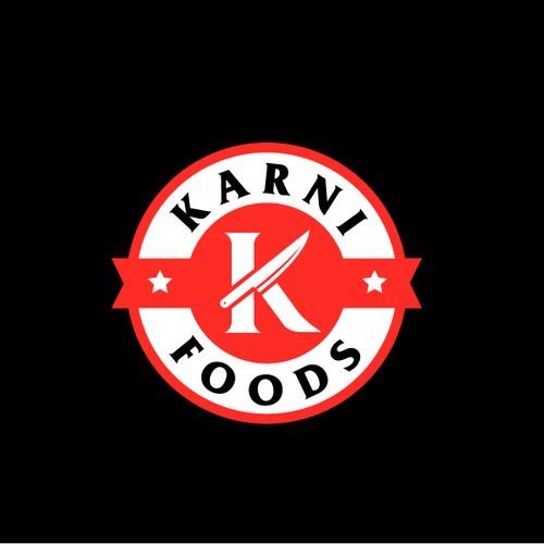 Meat Karni Food Logo Design
