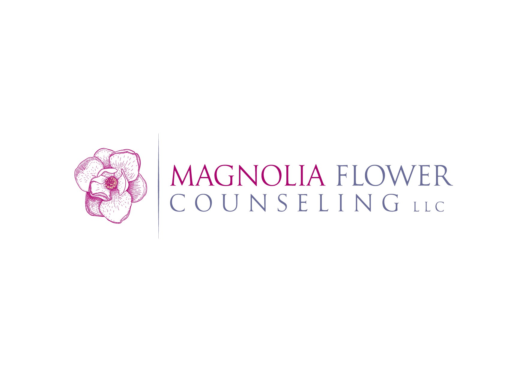 Magnolia Flower Counseling needs a warm, calming and inviting logo
